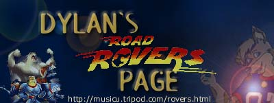 Dylan's Road Rovers Page